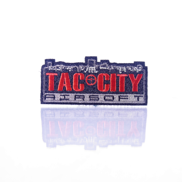 Tac City Red Logo Patch