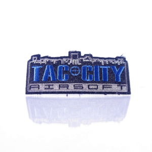 Tac City Blue Logo Patch