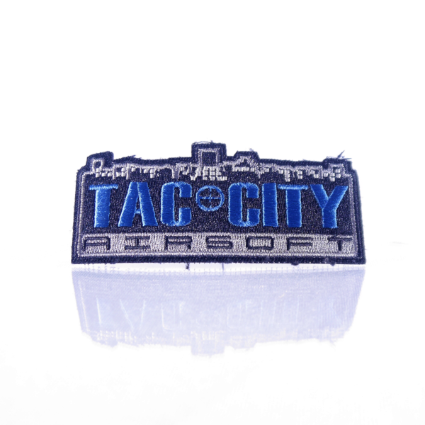 Tac City Blue Logo Patch